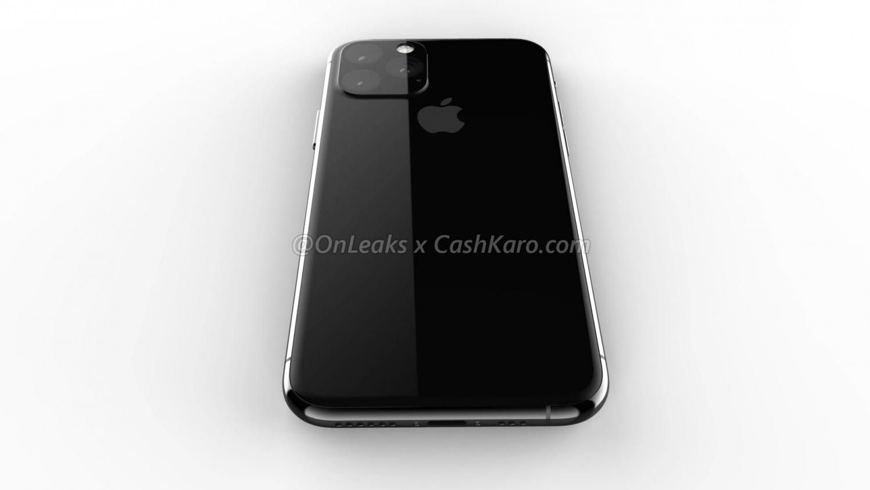 Рендеры iPhone 2019 года с камерой в форме треугольника7