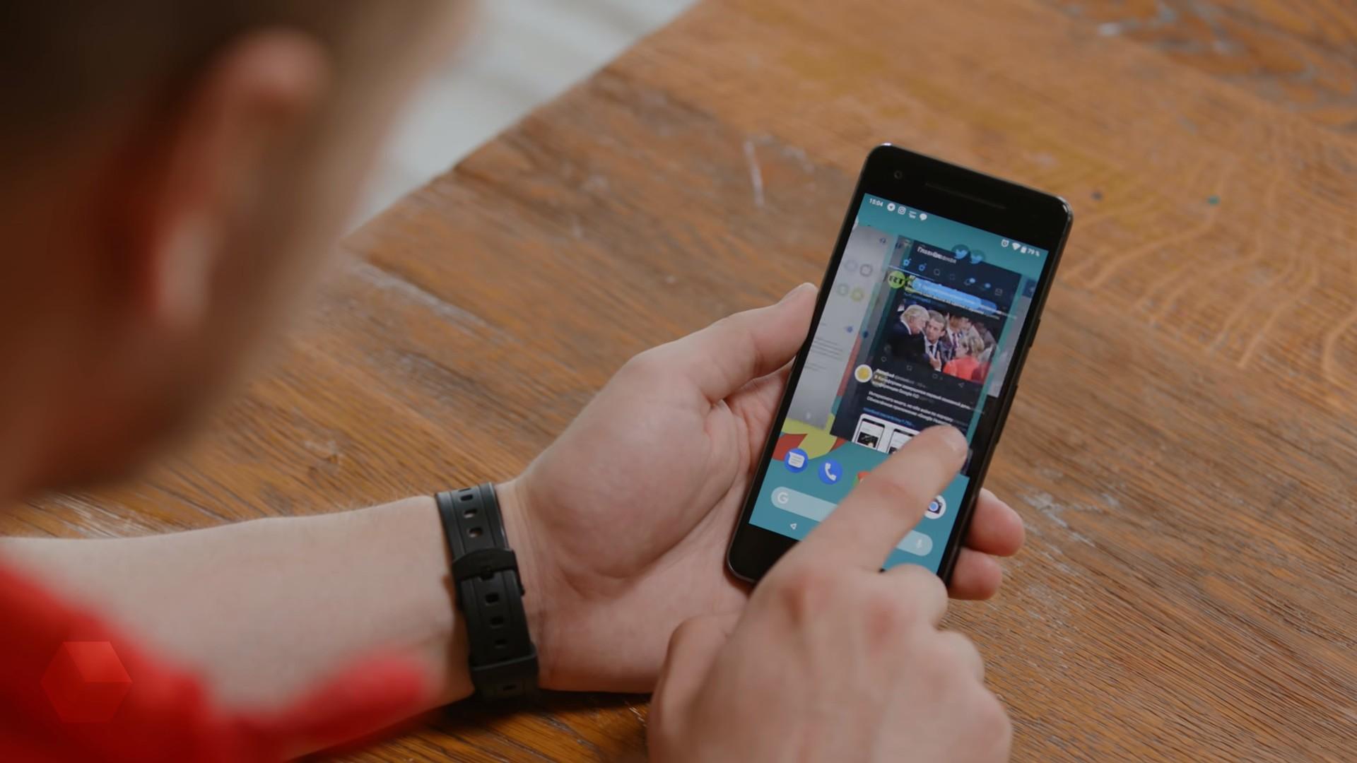 Pixel 3 полностью перейдёт на управление жестами