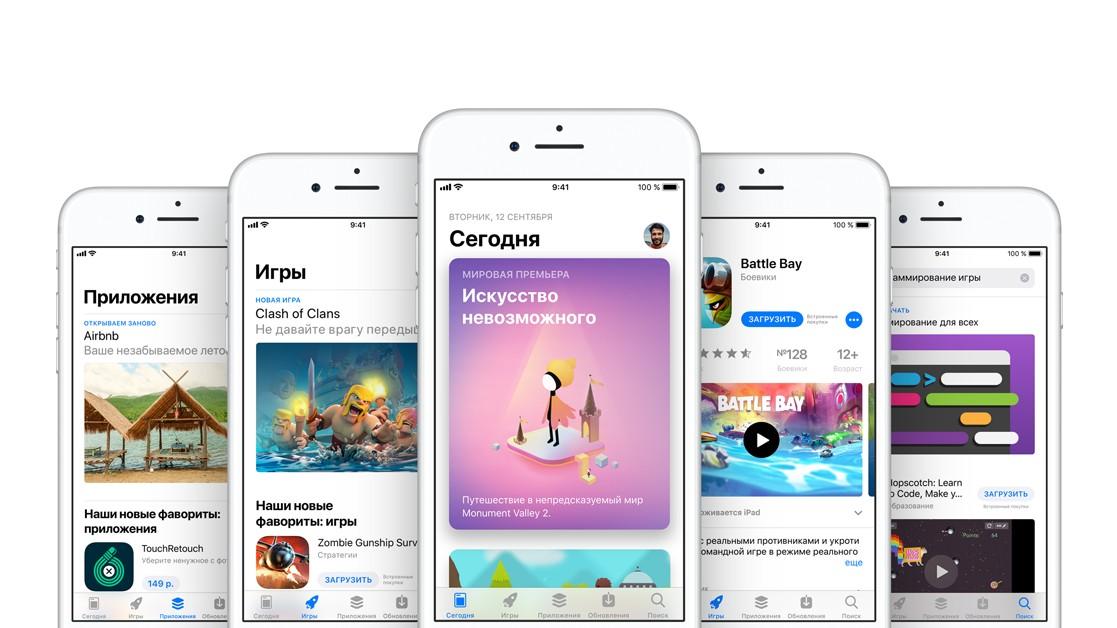 App Store приносит больше денег, чем Google Play, но отстаёт по загрузкам