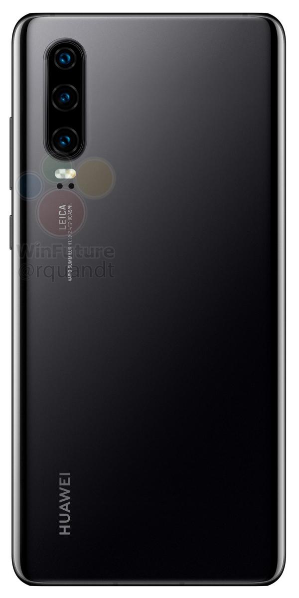 Полные характеристики Huawei P30 и P30 Pro до анонса6