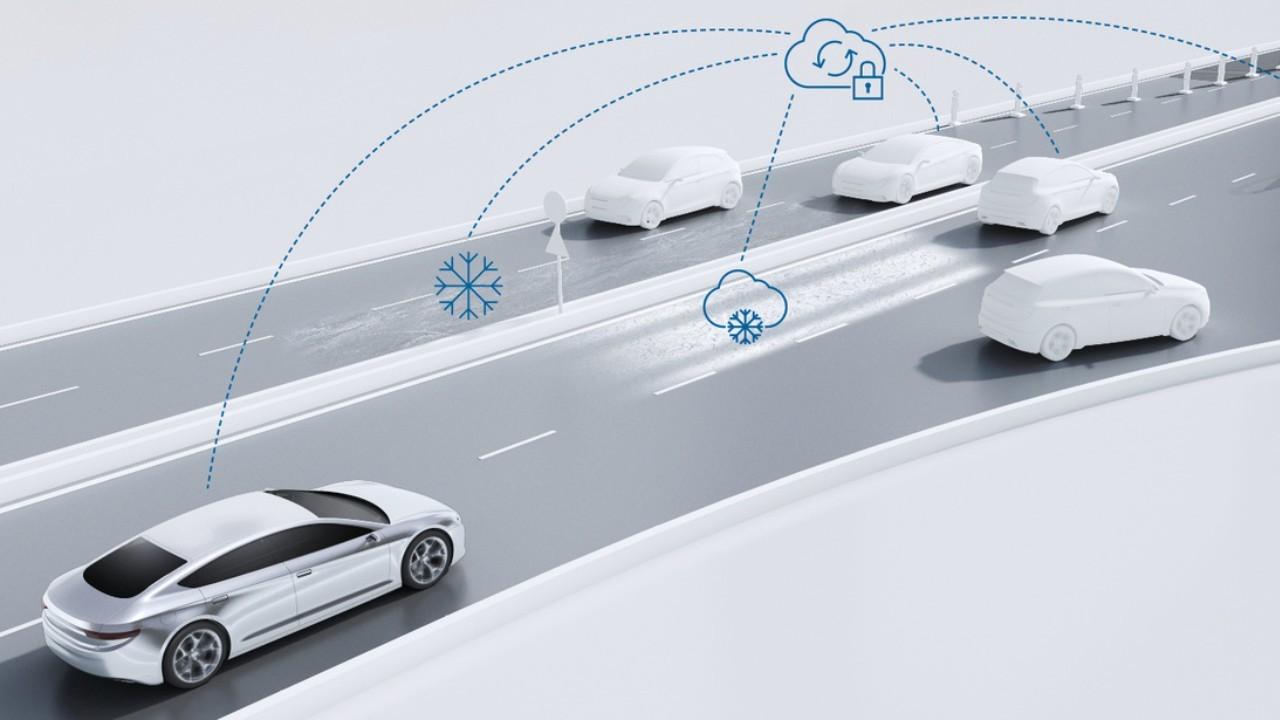 Bosch представила систему предупреждения беспилотных автомобилей