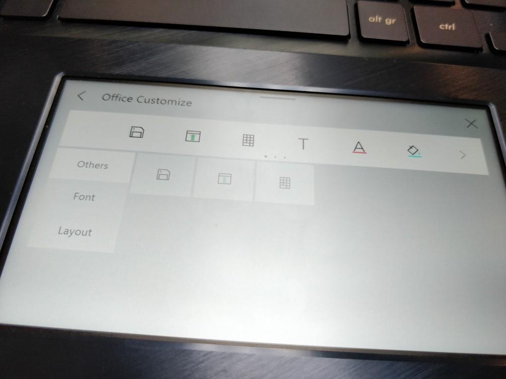 Asus показала ноутбуки с тачскрином вместо тачпада4