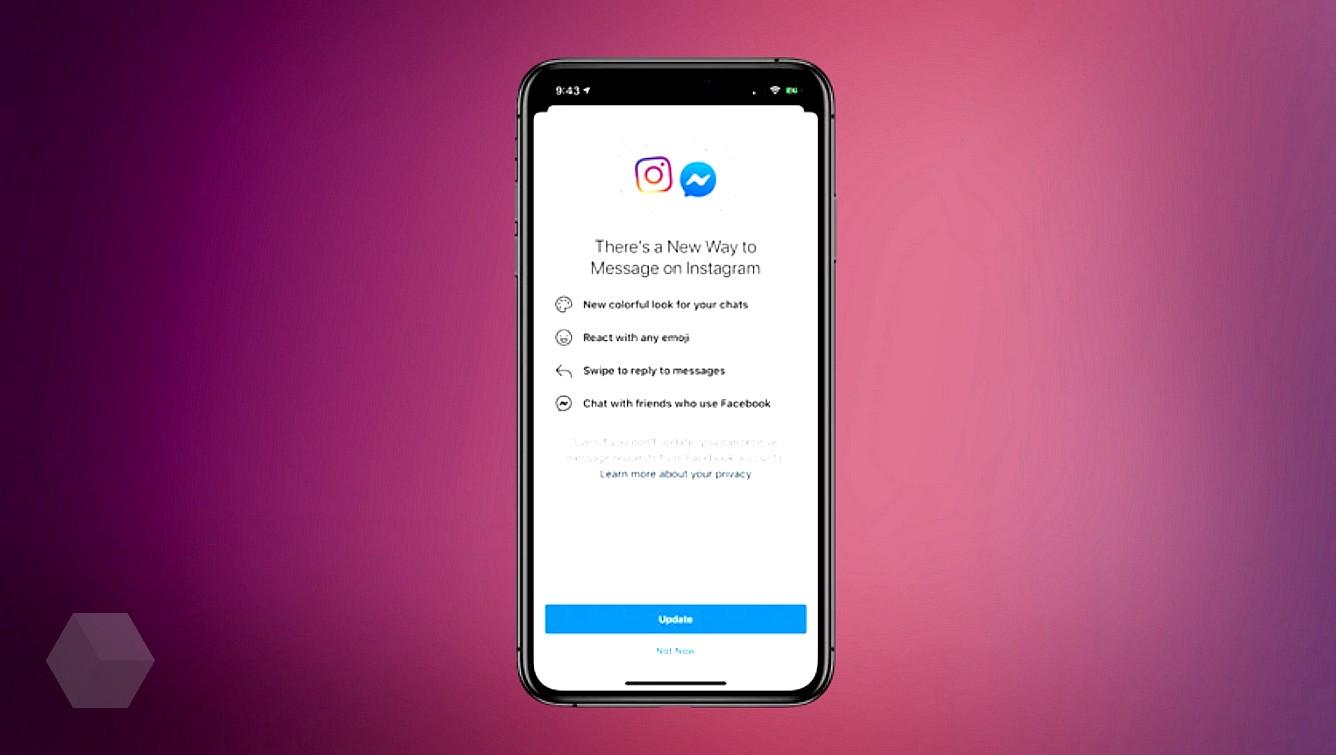 Facebook объединяет чаты Instagram и Messenger