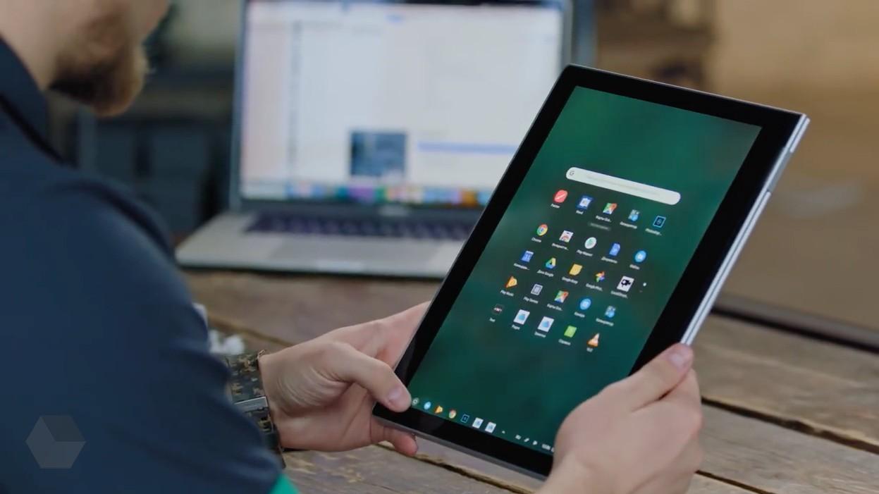 Так будет выглядеть гибридный планшет от Google