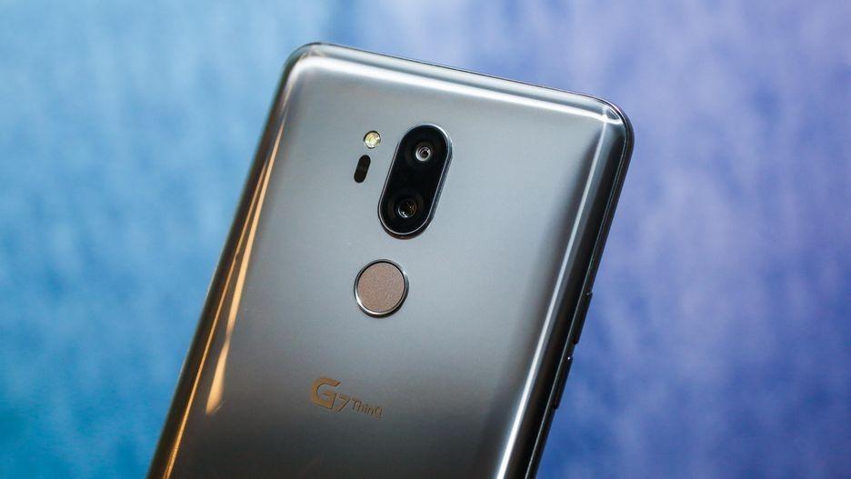 Объявлена цена LG G7 ThinQ для России2