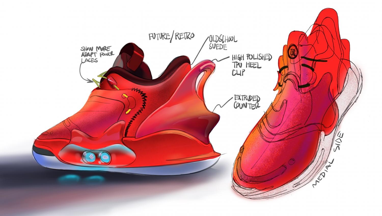 Nike представила второе поколение умных кроссовок Adapt BB4
