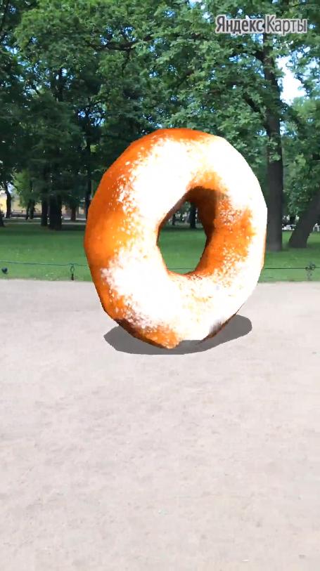 «Яндекс.Карты» получили туристический AR-гид с достопримечательностями Петербурга3