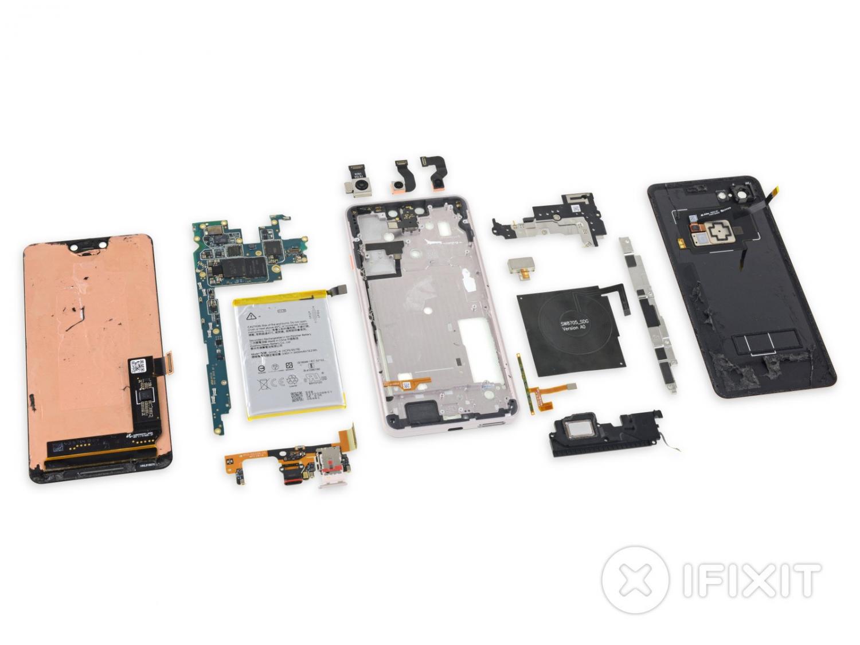 iFixit: Google Pixel 3 XL использует дисплей от Samsung5
