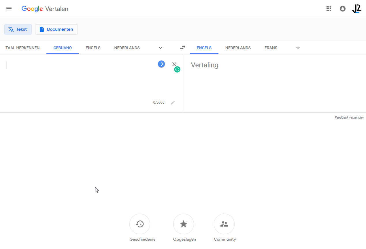Веб-версия «Google Переводчика» обновила дизайн1