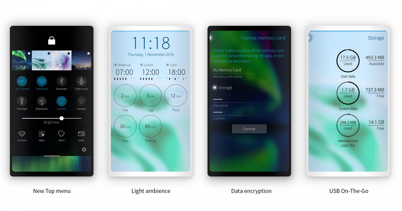 Sailfish OS сменила дизайн и получила функции для корпоративных пользователей2