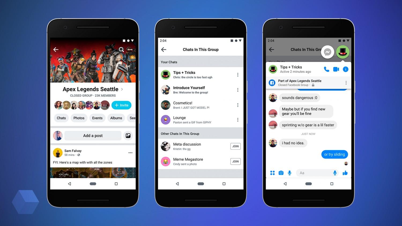 Facebook получит новый дизайн в стиле минимализ