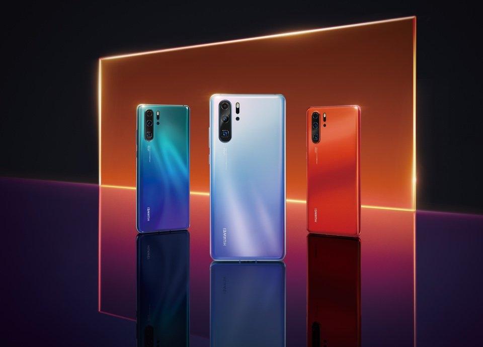 Официальные рендеры флагмана Huawei P305