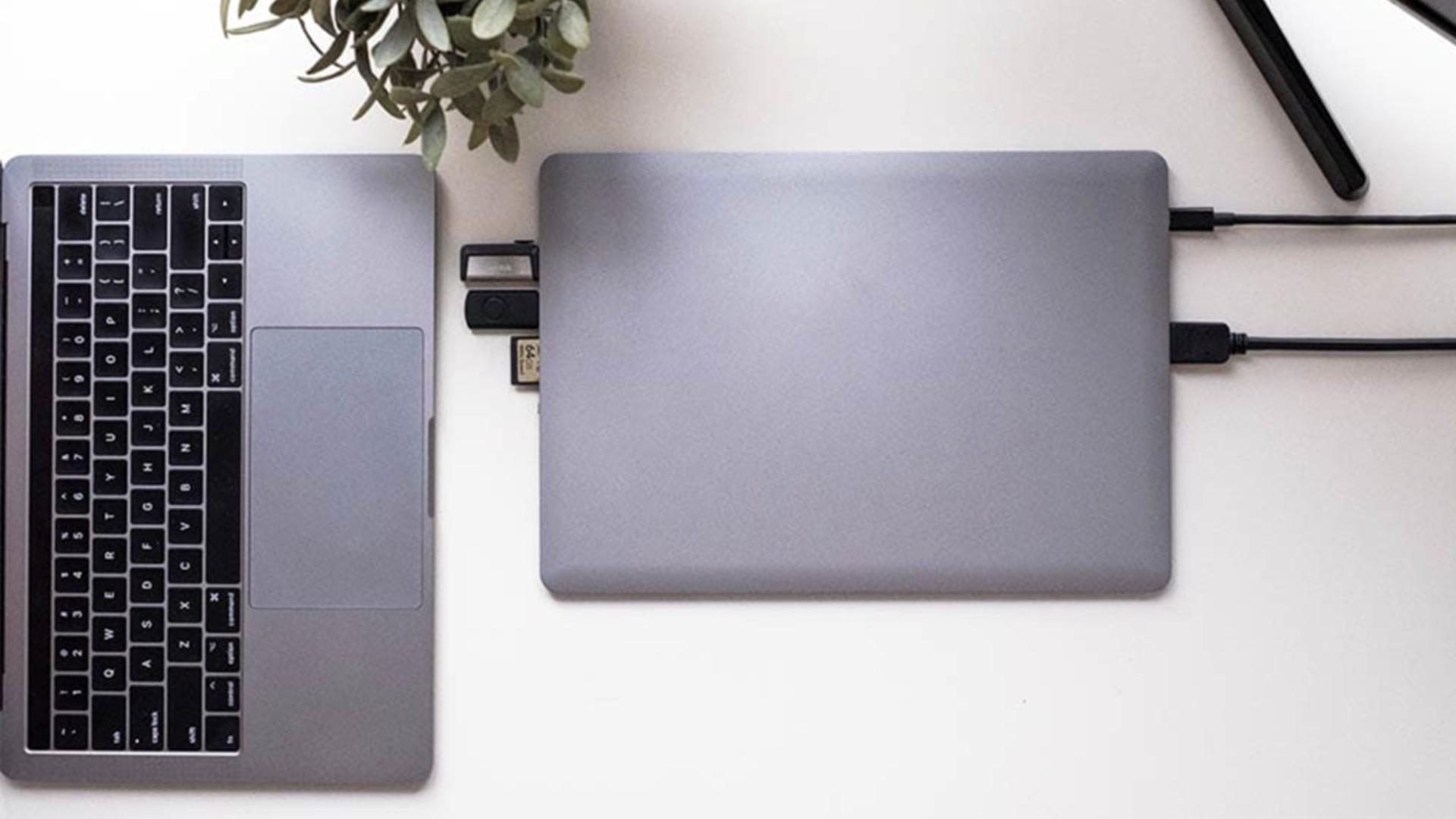 Linedock для MacBook: жёсткий диск, зарядное устройство и док-станция