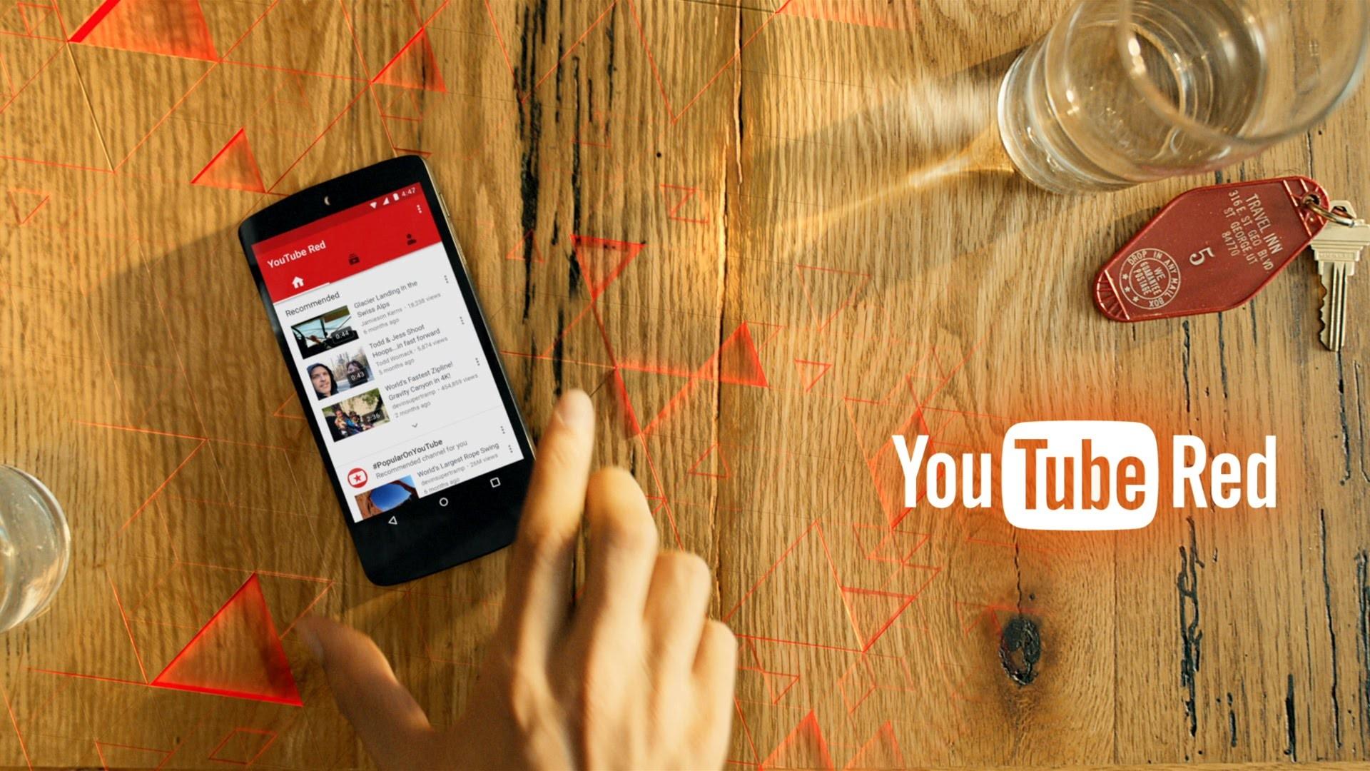 Подписку YouTube Red переименуют в YouTube Premium