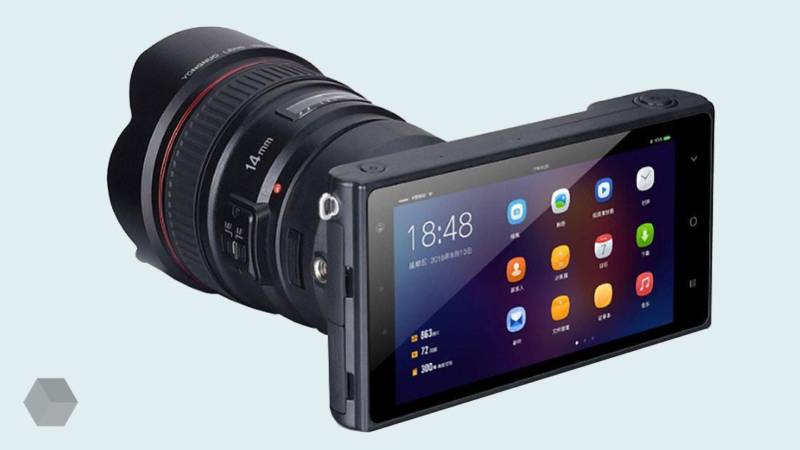 Yongnuo представила беззеркалку на Android с байонетом Canon EF