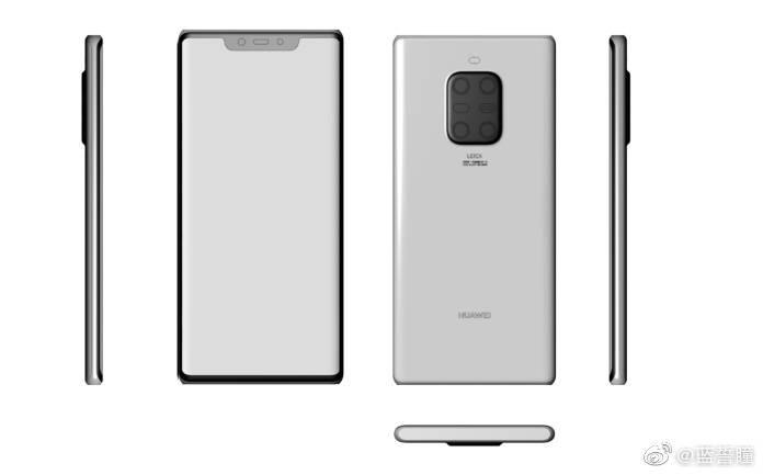 Huawei Mate 30 Pro: рендеры и фото лицевой панели2