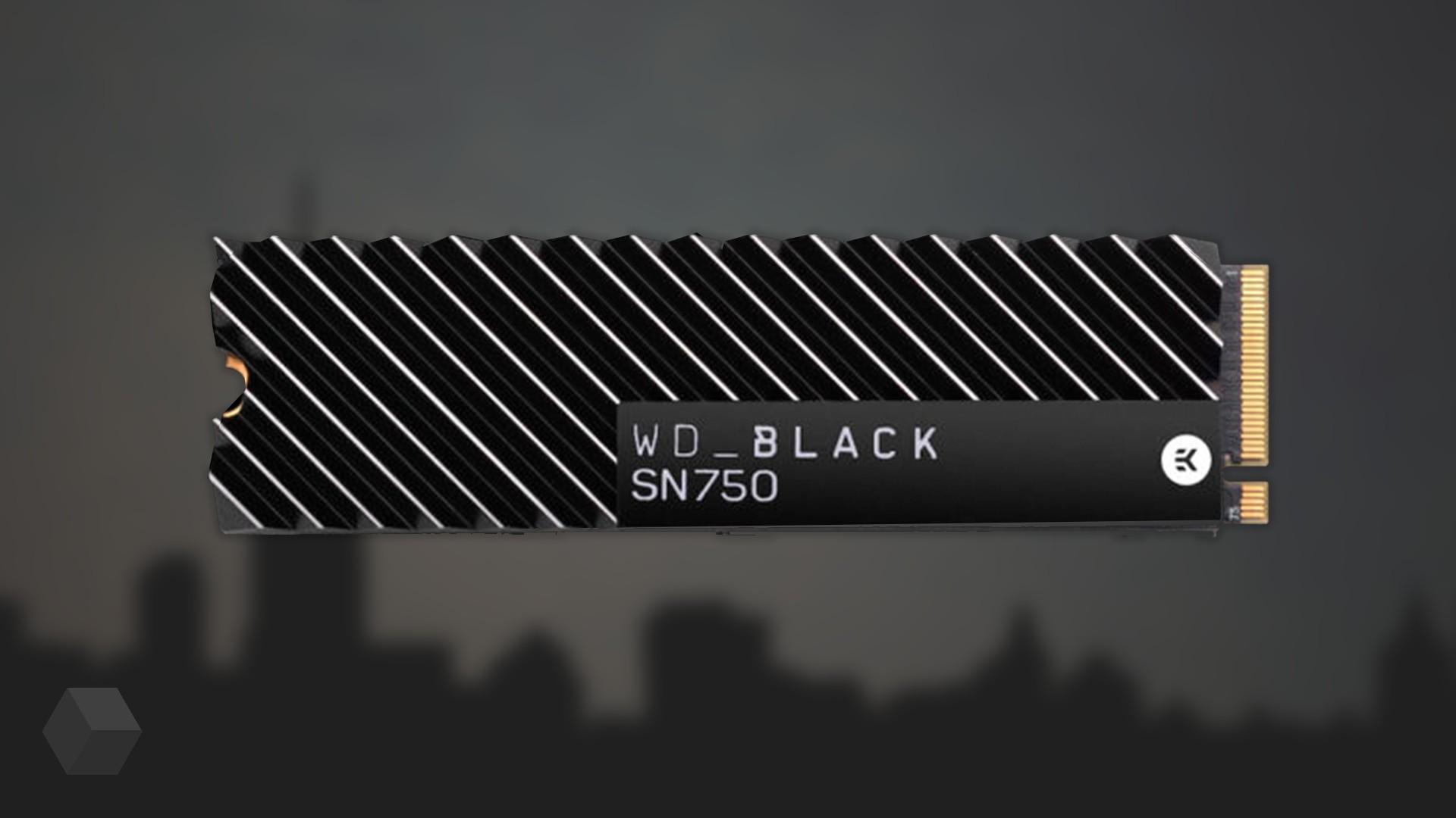 Новый SSD от Western Digital для игр комплектуется радиатором