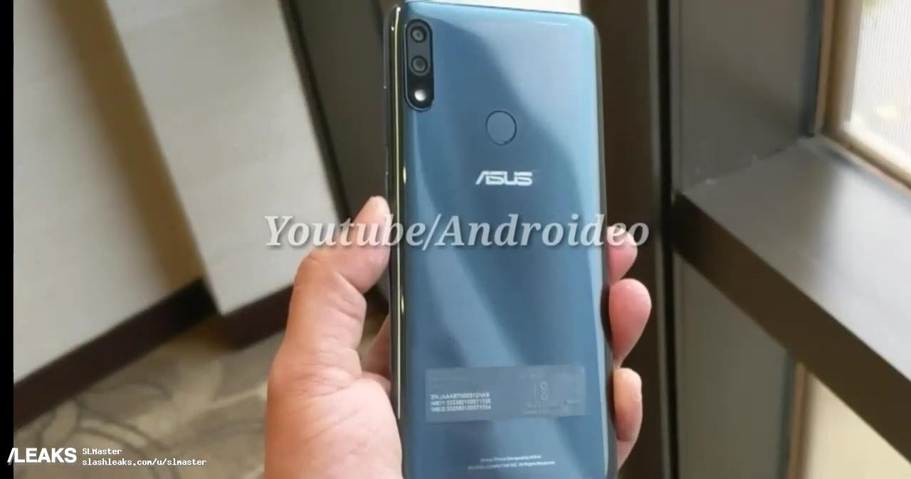 Внешний вид ASUS ZenFone Max Pro M2 стал известен из видео3