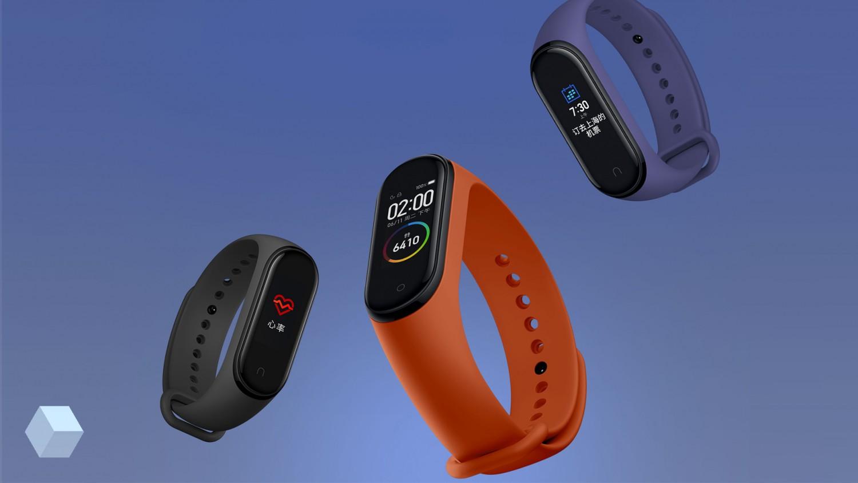 Xiaomi официально представила умный браслет Mi Band 4 с NFC