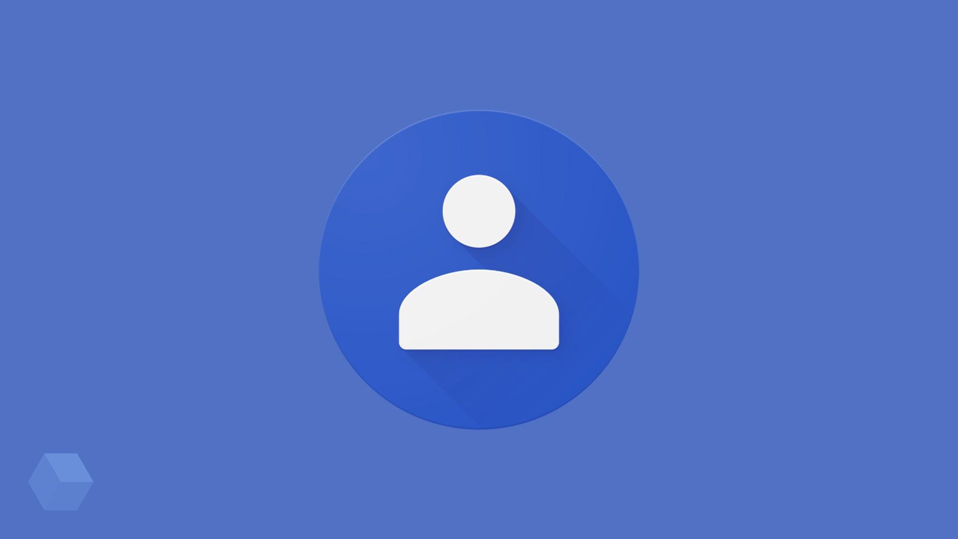 «Google Контакты» получили обновлённый дизайн Material
