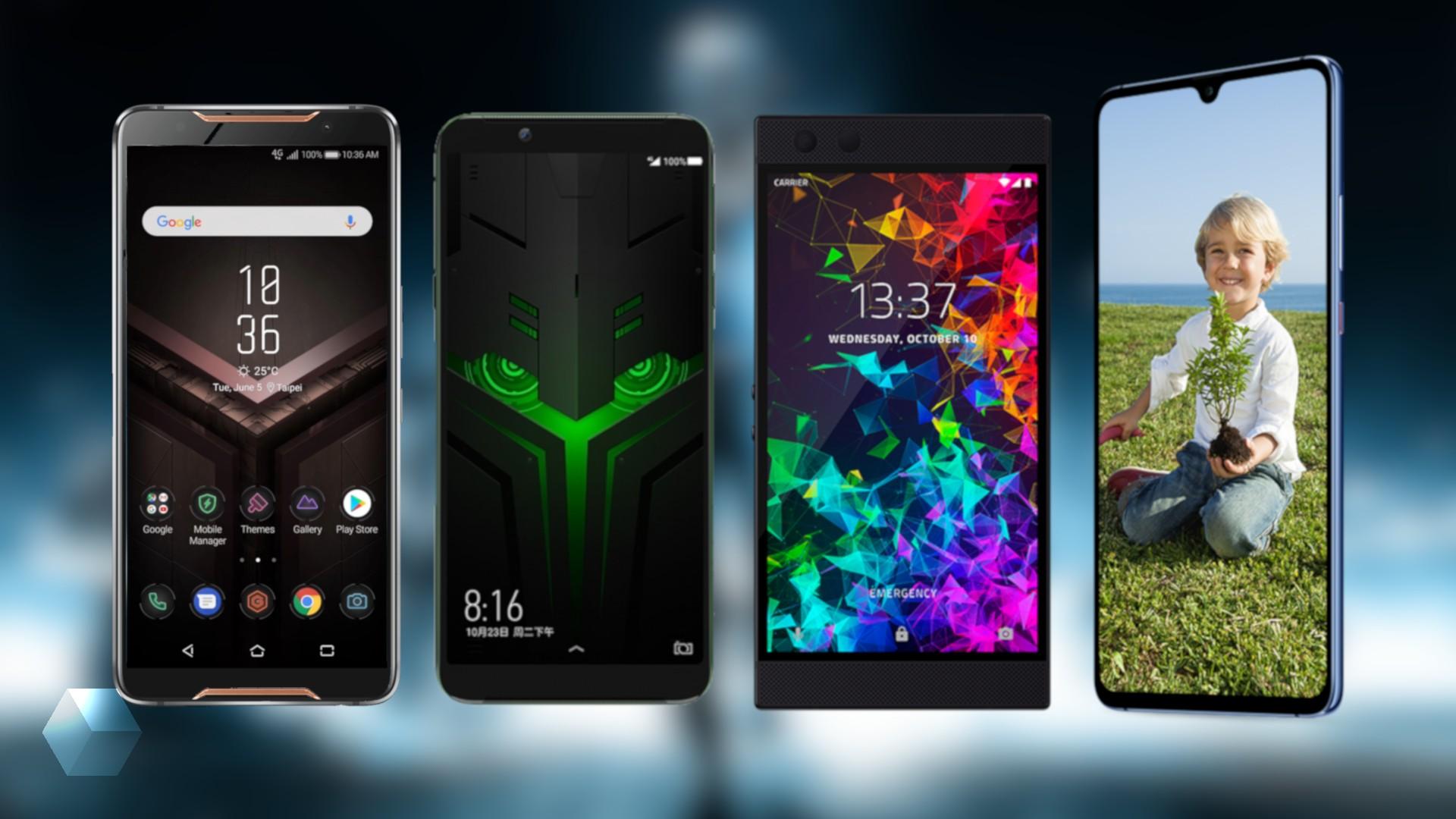 ASUS ROG Phone, Black Shark Helo, Huawei Mate 20 X и Razer Phone 2 — кто лучше?