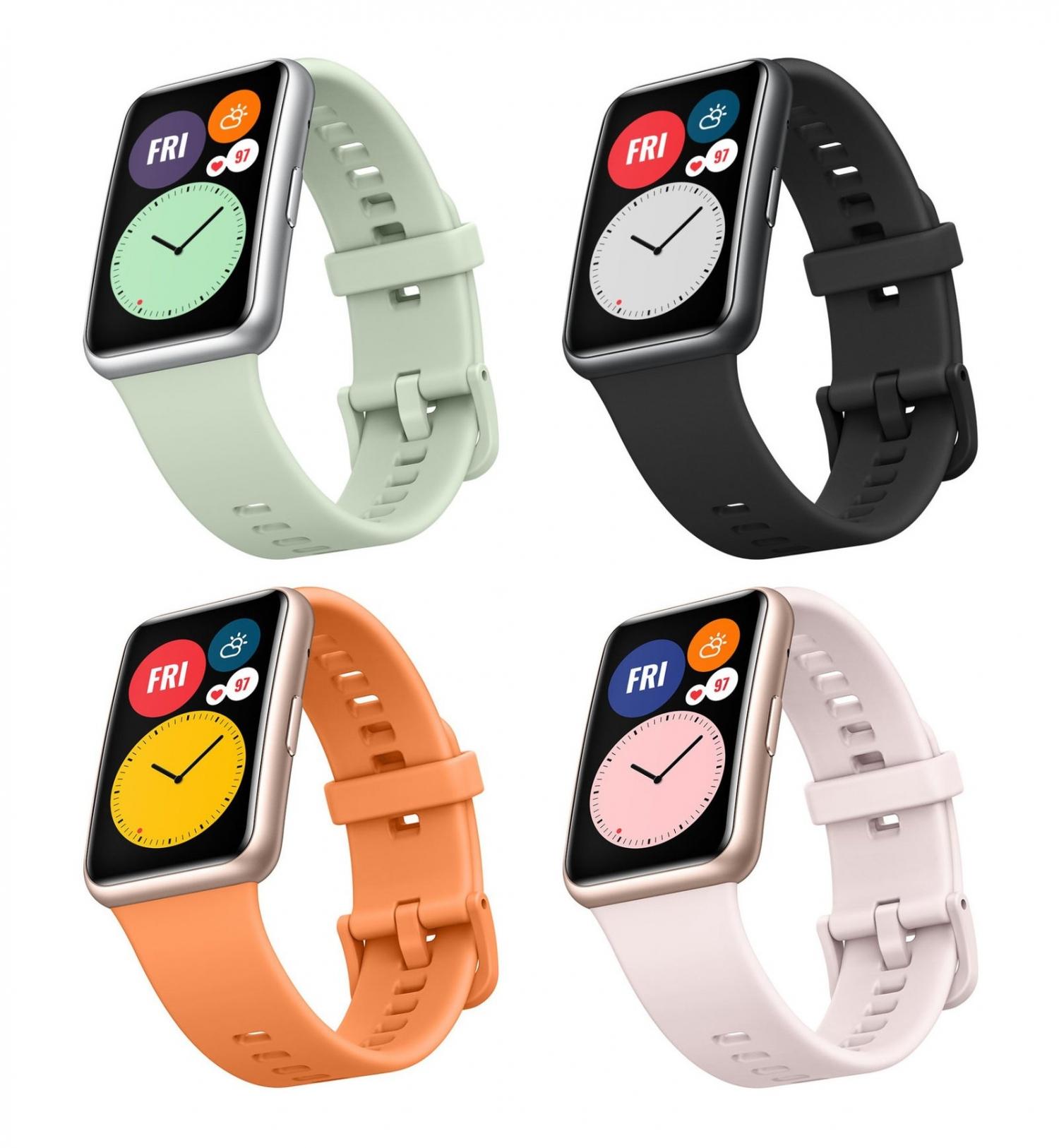 Официальные рендеры часов Huawei Watch Fit3
