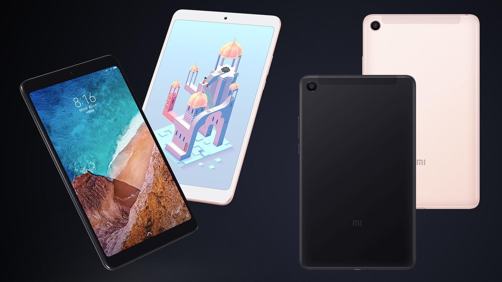 Xiaomi представила Mi Pad 4 — планшет за 11 тысяч рублей