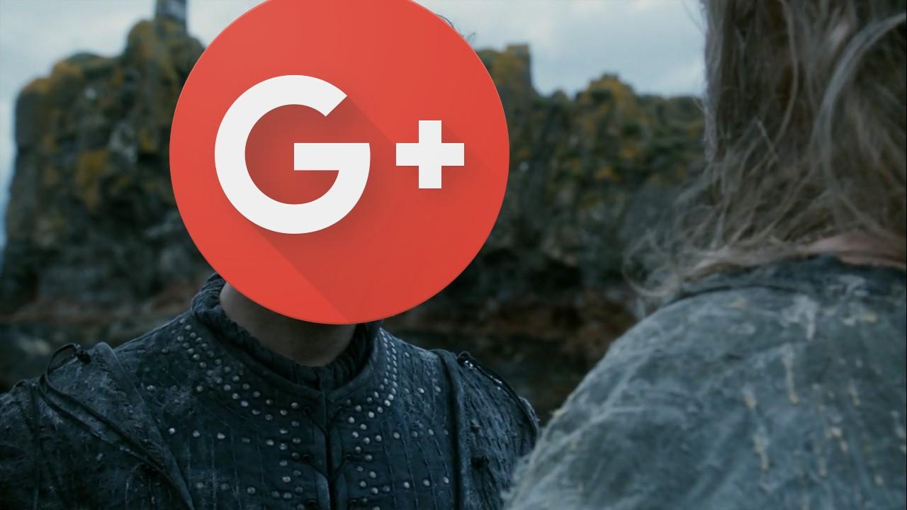 Подразделение Google закрыло страницу в Google+