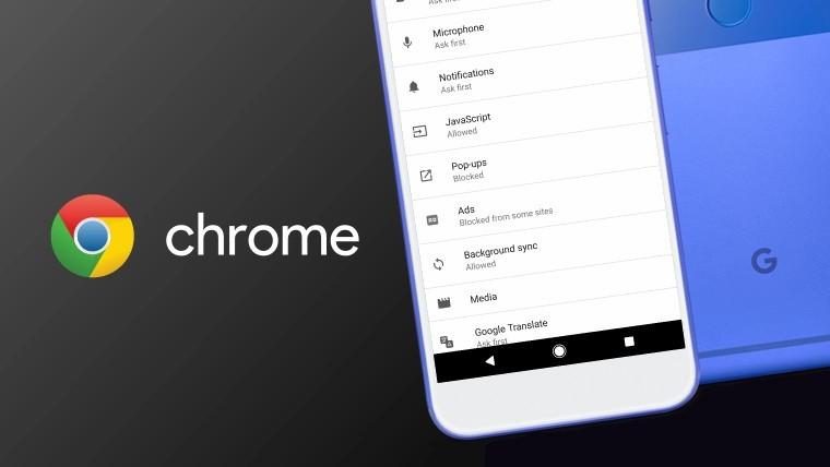 В мобильном Chrome тестируют управление жестами