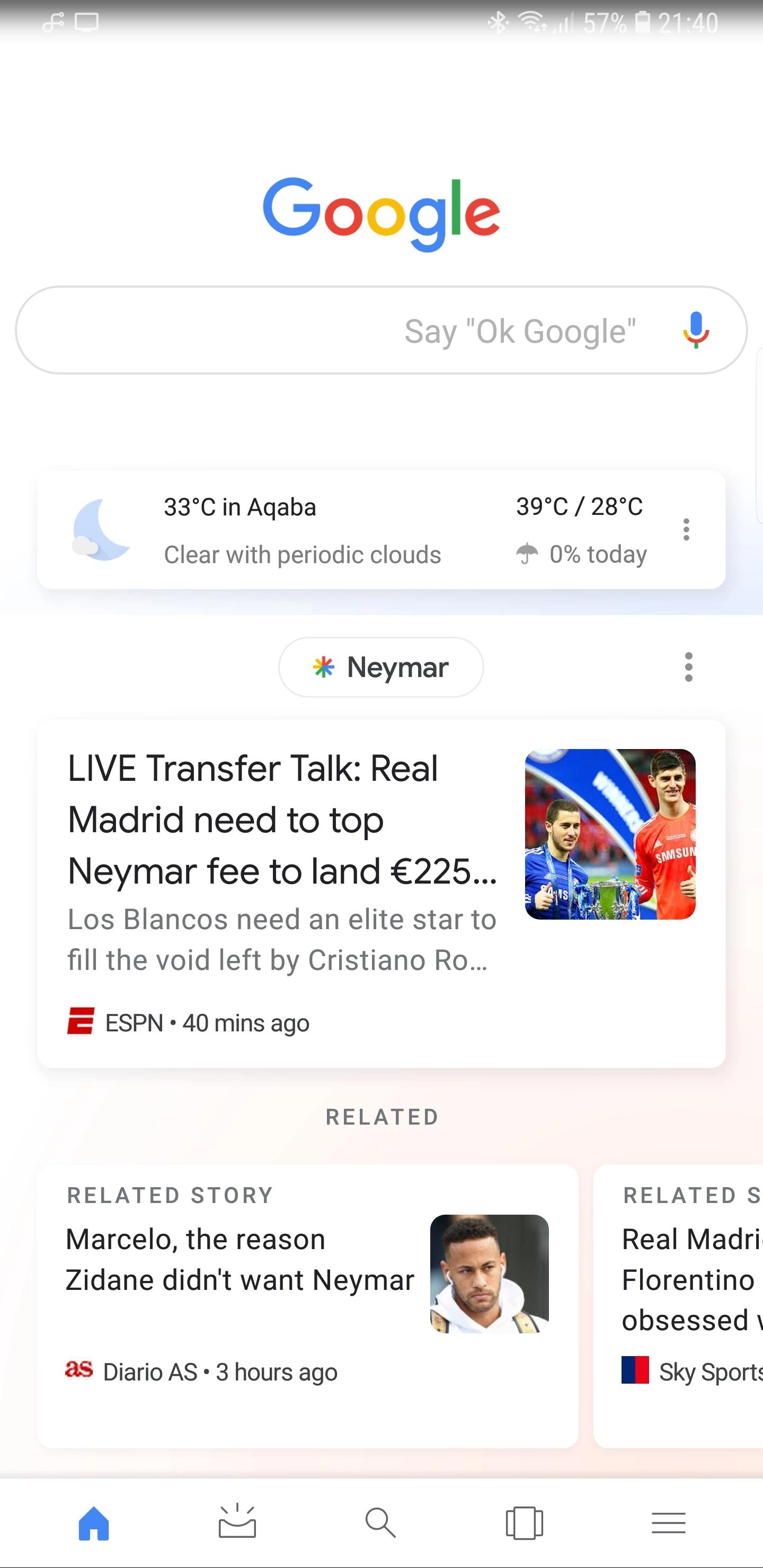 Google тестирует новый дизайн Поиска для Android2