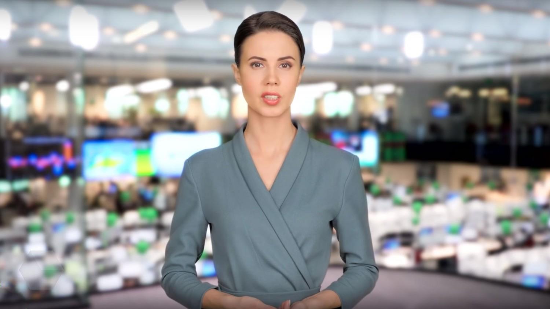 «Сбербанк» представил 3D-модель ведущей новостей по имени Елена