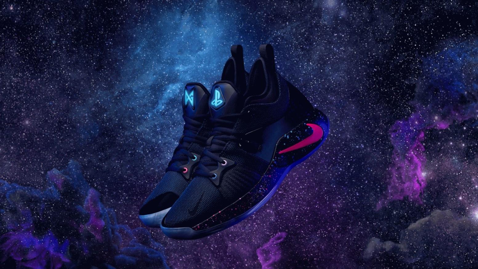 Nike выпустила кроссовки от баскетболиста Пола Джорджа и PlayStation