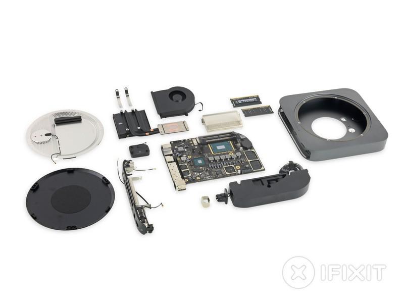 Новый Mac mini удивил iFixit своей ремонтопригодностью1