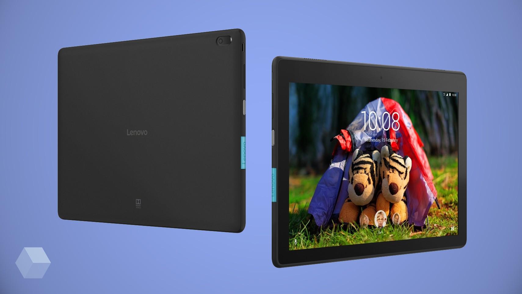 Lenovo представила 5 бюджетных планшетов на Android