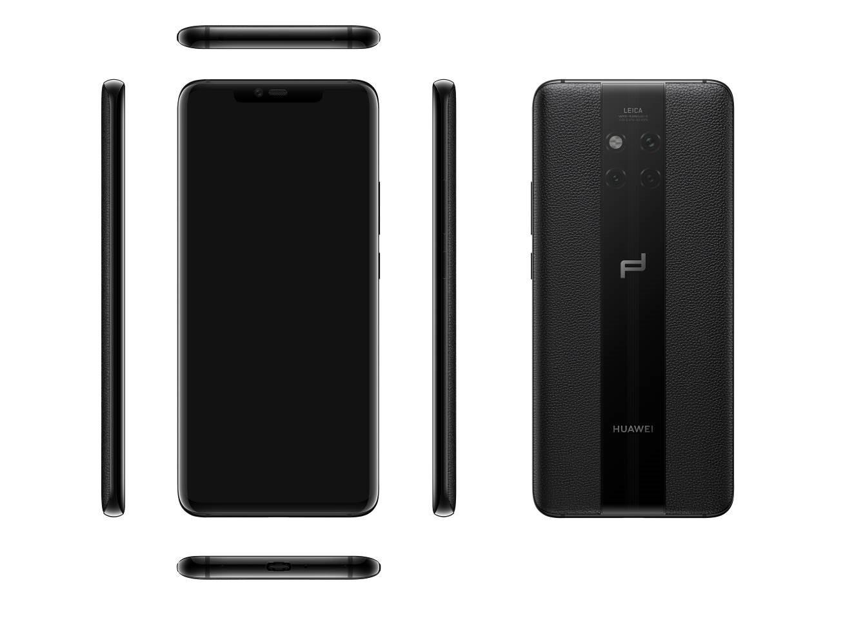 В России стартуют продажи премиального Porsсhe Design Huawei Mate 20 RS1