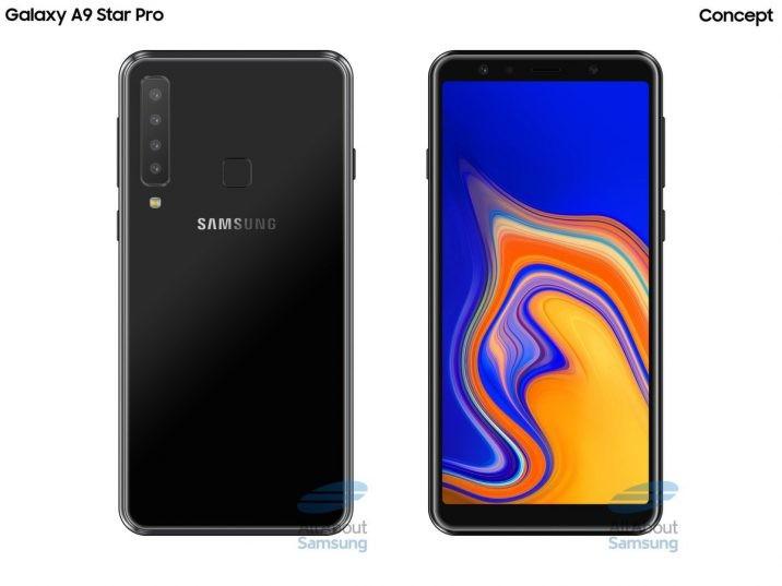 Слух: Samsung Galaxy A9 Star Pro получит камеру из четырёх сенсоров1
