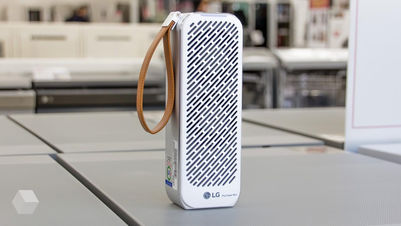 Очиститель воздуха LG PuriCare Mini. Чистый воздух там, где ты