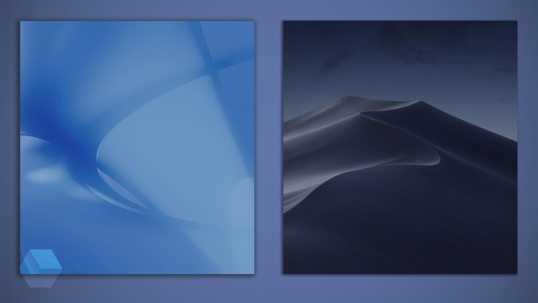 История развития и стандартные обои со всех версий macOS