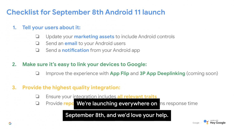 Google выпустила ролик, в котором назвала дату релиза Android 111