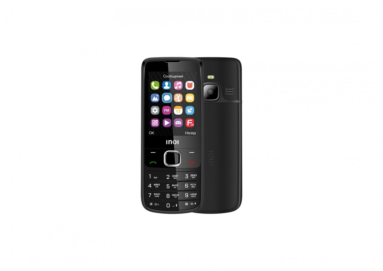 INOI 243 — кнопочный телефон в корпусе из авиационного алюминия2