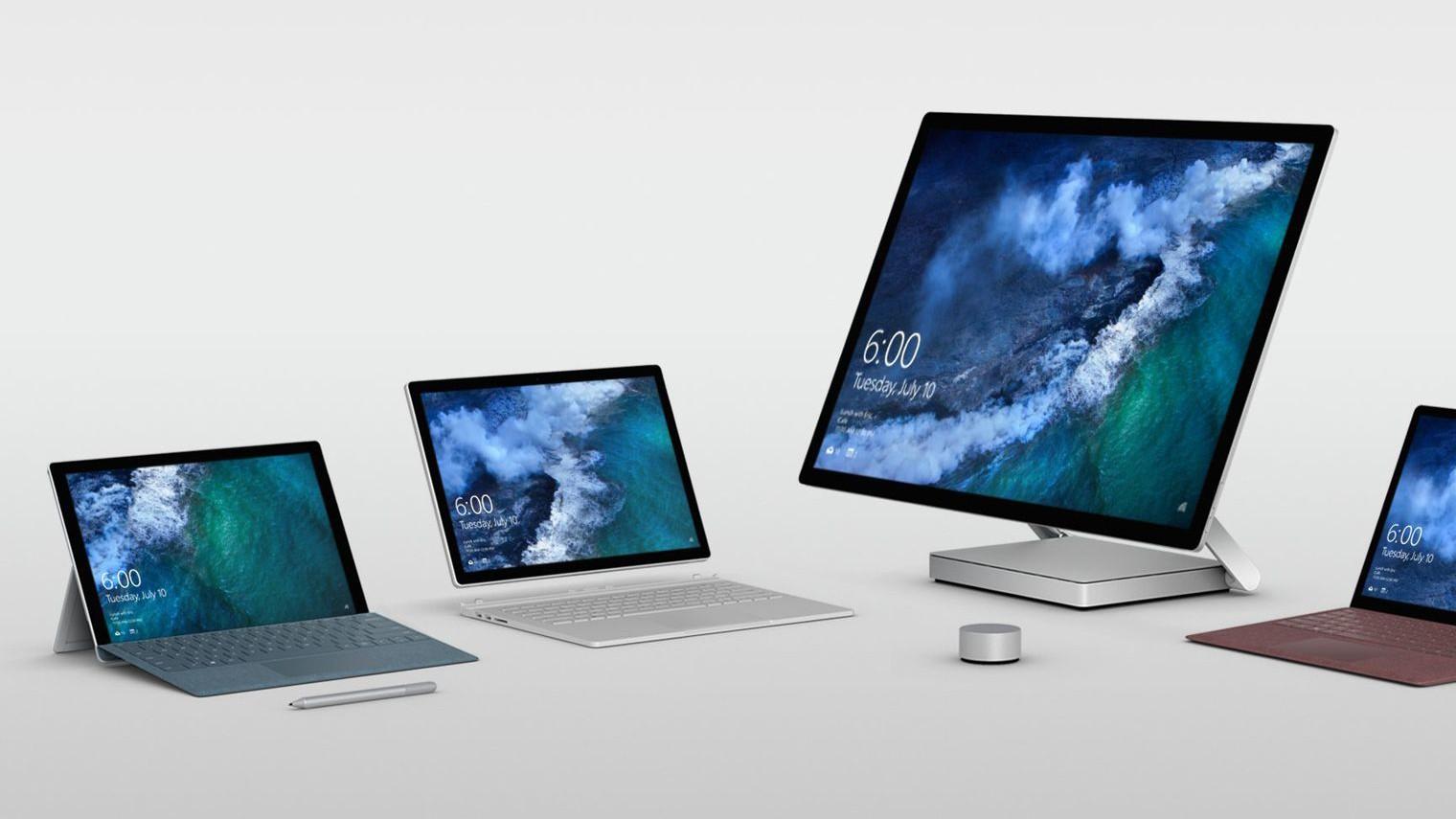 Microsoft представит дешёвый планшет Surface 10 июля