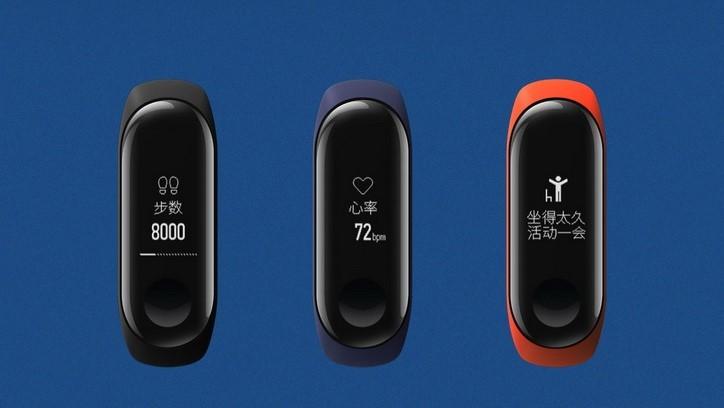 Представлен Xiaomi Mi Band 3 с сенсорным дисплеем