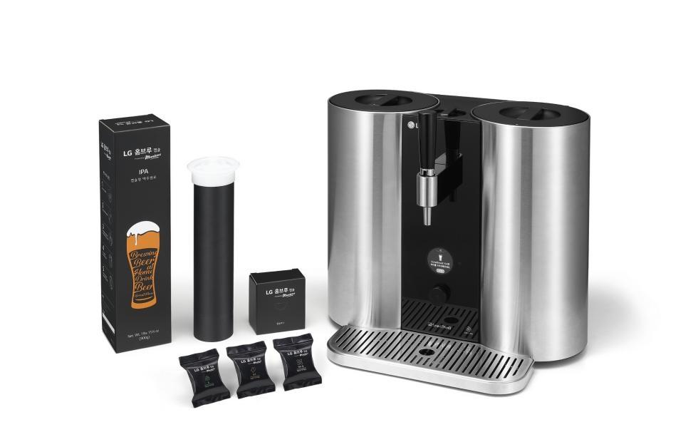 LG представит домашнюю капсульную систему для приготовления пива3