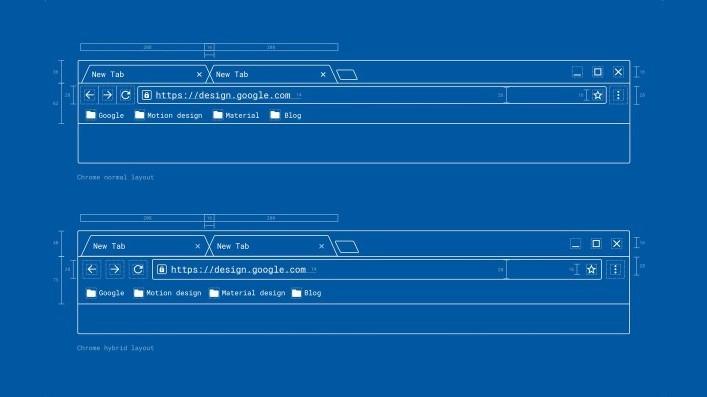Google Chrome получит интерфейс в стиле Material Design 2 в этом году