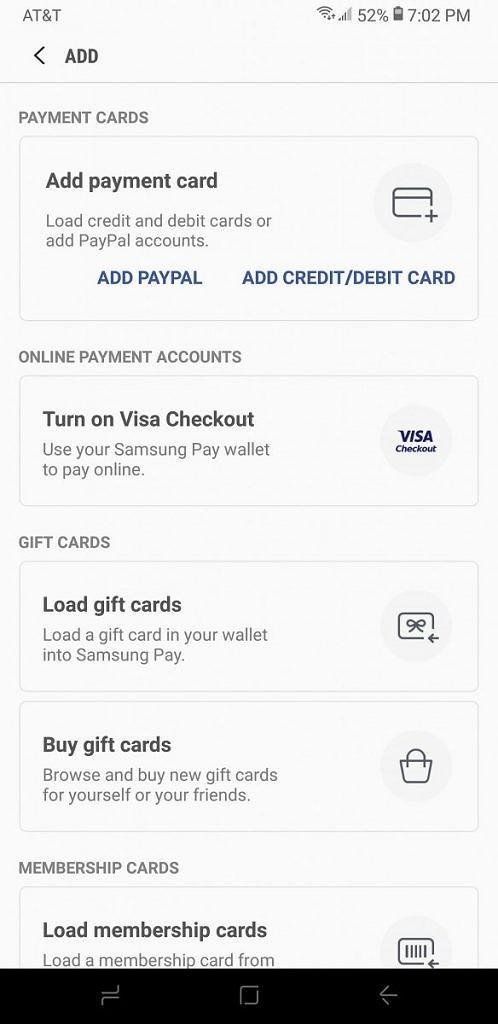 Samsung Pay получил поддержку PayPal в США1