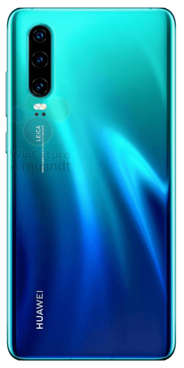 Полные характеристики Huawei P30 и P30 Pro до анонса4