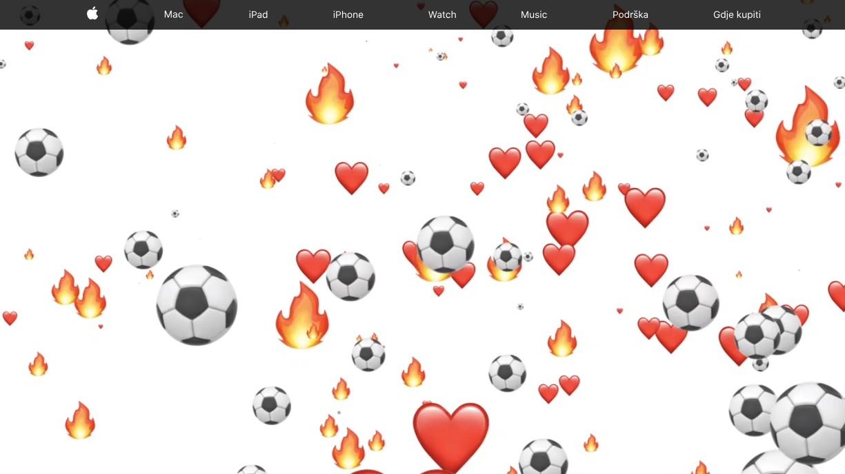 Apple обновила сайт в преддверии финала Чемпионата мира по футболу