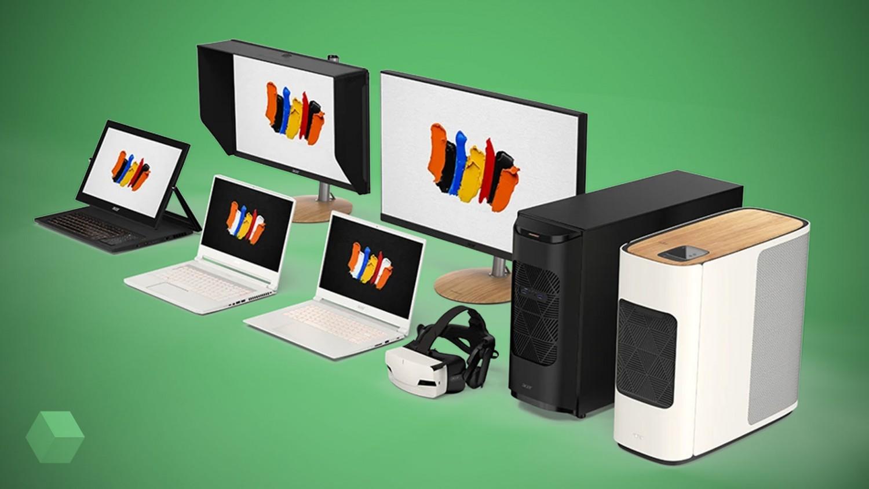 Acer представила новую линейку устройств ConceptD