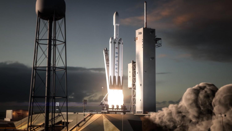 Инфографика габаритов и полезной нагрузки ракет-носителей программы NASA «Артемида»