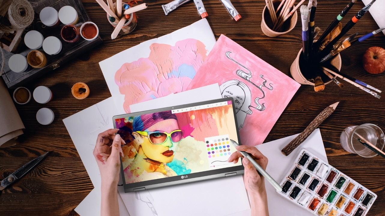 LG готовит 17-дюймовый ноутбук-трансформер Gram3